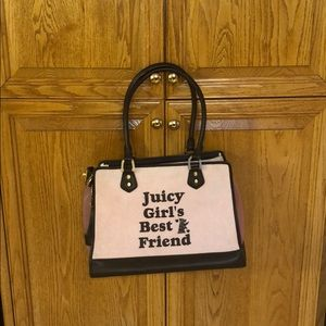 New juicy couture dog carrier bag